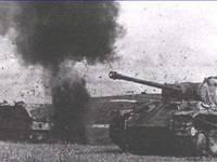 Боевое применение танка Panther