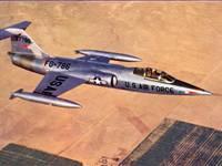 Самолет F-104 Starfighter
