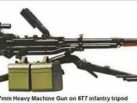 НСВ 12,7 модификации и боевое применение