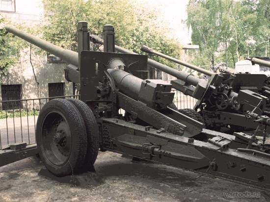 122-мм пушка образца 1931 года - фото 8