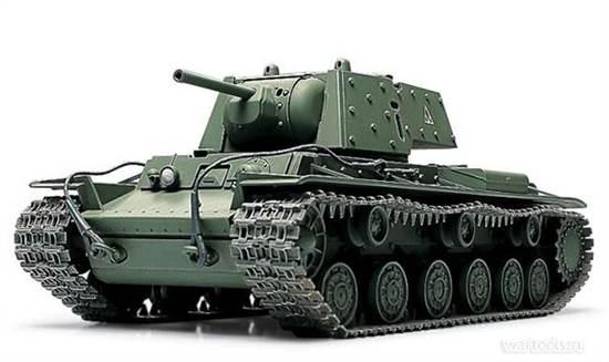 Танк КВ-1 (Клим Ворошилов)