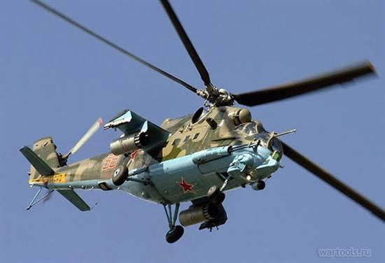 Вертолеты Ми 24