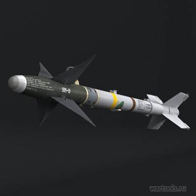Sidewinder missile blueprint