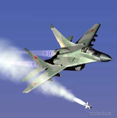 фото самолёт миг 29