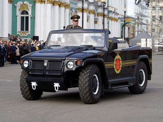 автомобиль тигр. фото