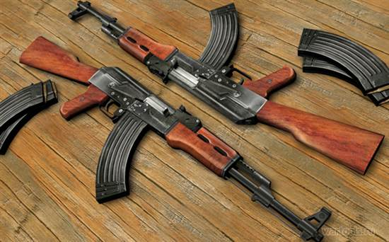 Картинки по запросу автоматического стрелкового оружия (модернизированный автомат АКМ