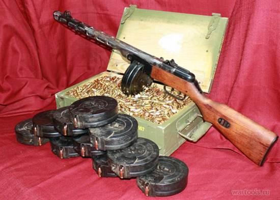 Картинки по запросу пистолет-пулемет образца 1941 г.